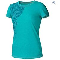 Marmot Katie Short-Sleeved Womens Tee - Size: M - Colour: CERAMIC BLUE