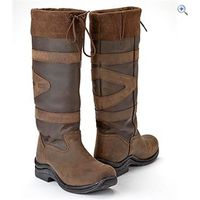 Toggi Canyon Riding Boots - Size: 43 - Colour: Chocolate Brown