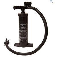 Airgo Pump (inc. Pressure Gauge) - Colour: Black
