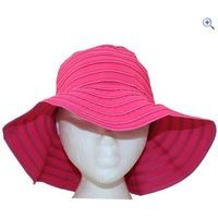 ProClimate Ladies Wide Brim Sun Hat - Colour: Pink