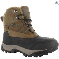 Hi-Tec Snow Peak 200 Waterproof Junior Winter Boot - Size: 12 - Colour: TAN-BLACK