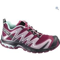 Salomon XA Pro 3D Womens Trail Running Shoe - Size: 4.5 - Colour: PURPLE-BLACK