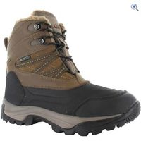 Hi-Tec Snow Peak 200 Waterproof Mens Winter Boot - Size: 8 - Colour: TAN-BLACK