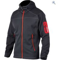 Berghaus Mens Pravitale Hooded Fleece Jacket - Size: S - Colour: CARBON-BLACK