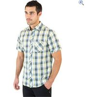 Regatta Deakin Mens Short-Sleeved Shirt - Size: S - Colour: PROVINCIAL BLUE