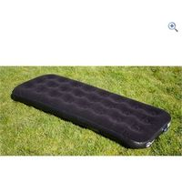 Hi Gear Single Flock Airbed - Colour: Black