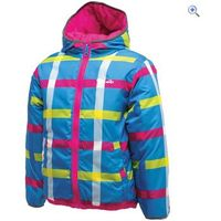 Dare2b Whimsical Reversible Jacket - Size: 3-4 - Colour: ELECTRIC PINK