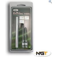 NGT 2 In 1 Bait Rigging Tool.