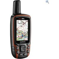 Garmin GPSMAP 64S + GB Discoverer Bundle - Colour: BLACK-ORANGE