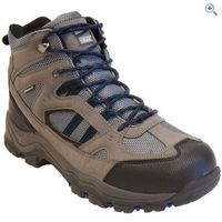 Freedom Trail Lowland II WP Mid Mens Walking Boot - Size: 8 - Colour: Grey / Blue