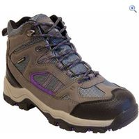 Freedom Trail Lowland II WP Mid Womens Walking Boot - Size: 9 - Colour: GREY-MULBERRY