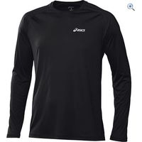 Asics LS Crew Mens Running Top - Size: L - Colour: Black