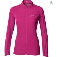 Asics Womens Running Jacket - Size: L - Colour: Magenta