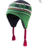 The Edge Pickering Inca Kids Hat - Colour: GREEN-NAVY