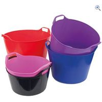 Shires Easi Trug (Large, 45 litres) - Colour: Black