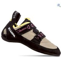 Scarpa Velocity V Ladies Climbing Shoes - Size: 39 - Colour: SAND-YELLOW
