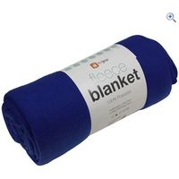 Hi Gear Fleece Blanket (130 X 170cm) - Colour: Blue