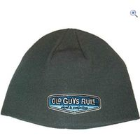 Old Guys Rule Rear View Beanie - Colour: Deep Silver Grey