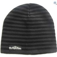 Old Guys Rule Striped Beanie - Colour: Black / Grey