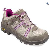 North Ridge Bexhill Womens Waterproof Walking Shoes - Size: 13 - Colour: GREY-MULBERRY