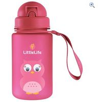 LittleLife Owl Bottle - Colour: Pink