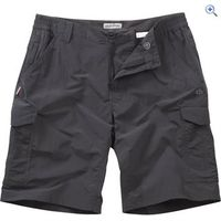 Craghoppers NosiLife Mens Cargo Shorts - Size: 30 - Colour: Black Pepper