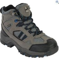 Freedom Trail Lowland II WP Mid Boys Walking Boot - Size: 3 - Colour: Grey / Blue