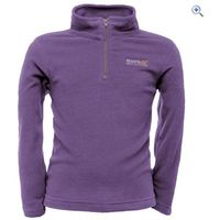 Regatta Hotshot II Kids Microfleece - Size: 5-6 - Colour: PURPLE HEART