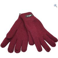 ProClimate Womens Acrylic Thinsulate Gloves - Colour: Damson