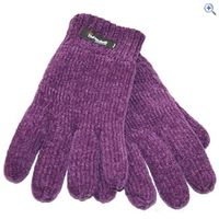 ProClimate Womens Chenille Thinsulate Gloves - Colour: Purple