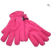 ProClimate Womens Fleece Thinsulate Gloves - Colour: Fushia Pink