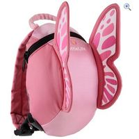 LittleLife Butterfly Daysack with Rein - Colour: Pink