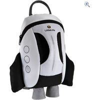 LittleLife Space Shuttle ActiveGrip Kids Daysack - Colour: White And Black