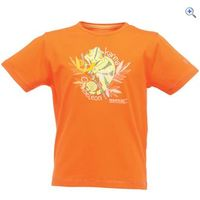 Regatta Bugle Kids T-shirt - Size: 5-6 - Colour: MAGMA