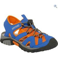 Regatta Deckside Jnr Kids Sandals - Size: 5 - Colour: Blue-Orange