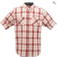 Regatta Russ Mens Shirt - Size: M - Colour: RHUBARB RED