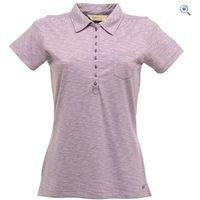 Regatta Bye Bye Womens Polo Shirt - Size: 20 - Colour: PURPLE HEART