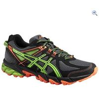 Asics GEL-Sonoma Mens Trail Running Shoes - Size: 7 - Colour: ONYX-GREEN
