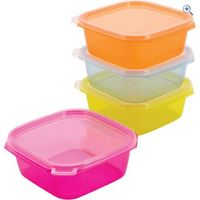 Hi Gear Food Storage Containers (4 pack)