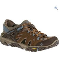 Merrell All Out Blaze Sieve Womens Hiking Sandals - Size: 6 - Colour: BROWN-BLUE