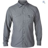 Berghaus Explorer ECO LS Mens Shirt - Size: S - Colour: Grey Marl