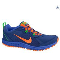 Nike Wild Trail Mens Running Shoes - Size: 12 - Colour: BLUE-ORAN-GREEN