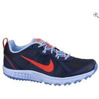 Nike Wild Trail Womens Running Shoes - Size: 4 - Colour: NAVY-ORANGE