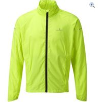Ronhill Pursuit Run Mens Jacket - Size: L - Colour: Fluo Yellow