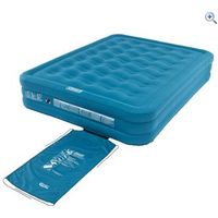Coleman DuraRest Raised Double Airbed - Colour: Blue