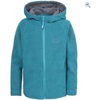 Trespass Aidan Kids Fleece - Size: 7-8 - Colour: Blue
