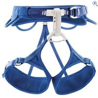 Petzl Adjama Adjustable Climbing Harness - Size: S - Colour: Blue