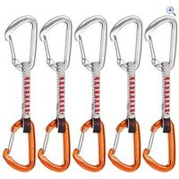 Mammut Wall Express Quickdraw 5-pack (10cm) - Colour: ORANGE-SILVER
