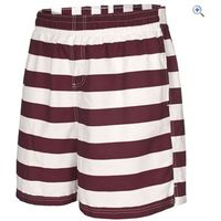 Trespass Mens Adrift Short - Size: XL - Colour: PRUNE STRIPE