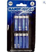 Handy Heroes AAA Alkaline Premium Ultra Power Batteries (8 pack)